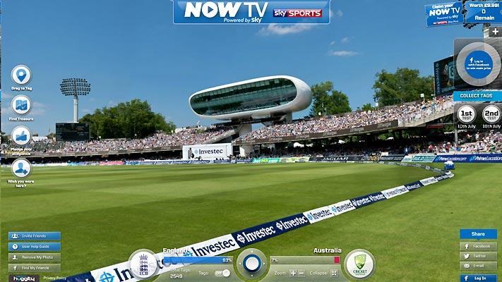 Sky Sports / Ashes Tour 2013