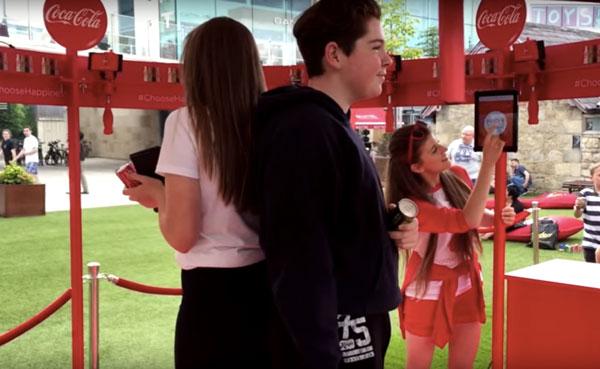 Coca-Cola 360° Selfie Stage