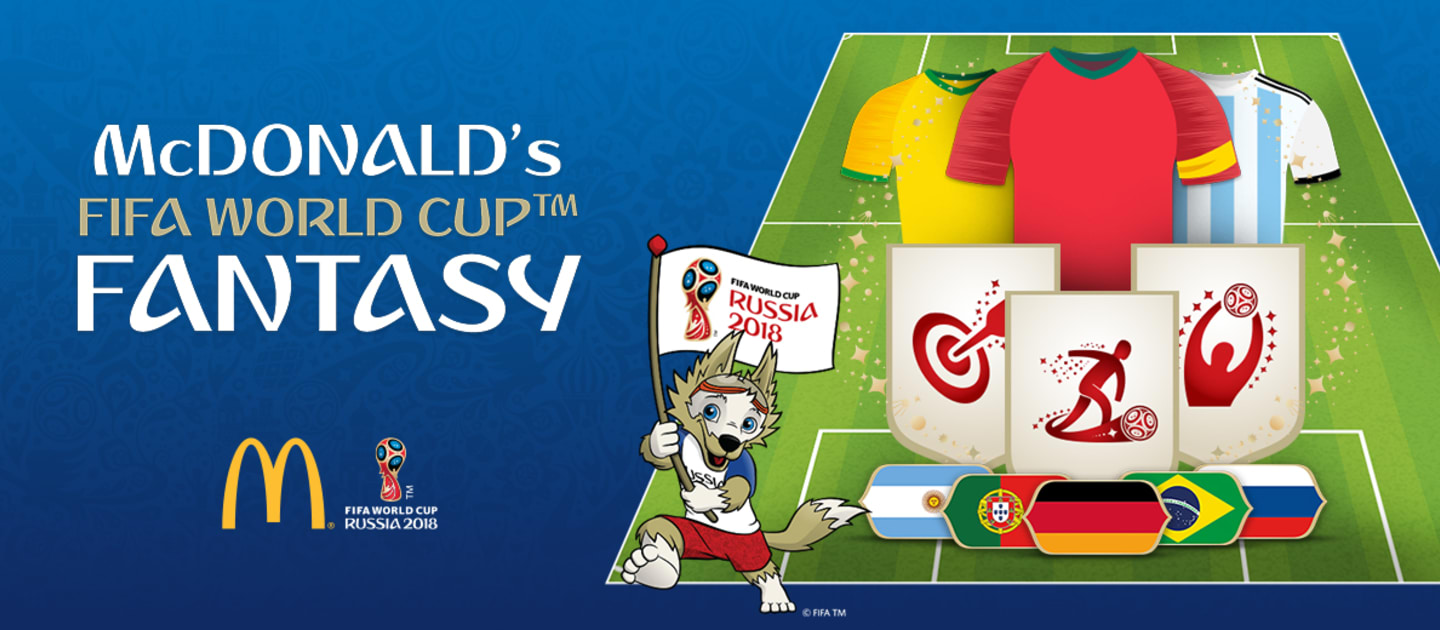 McDonald Fantasy game, gamification, fan experience