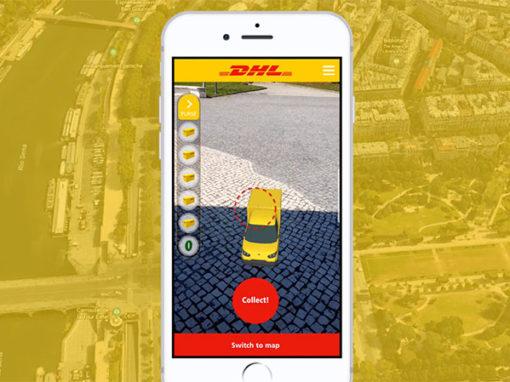 DHL Mobile Quest – AR Experience – Formula E Sponsorship Activation