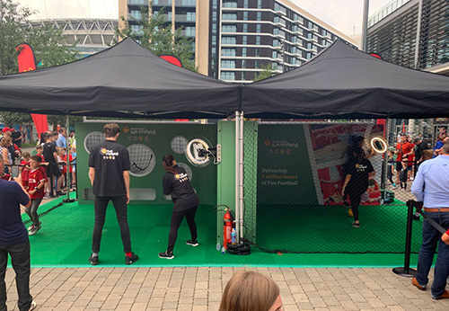 McDonald's Fun Football Activations