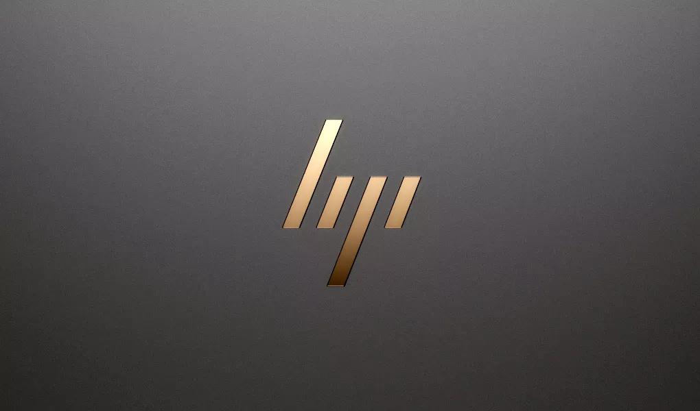 HP New Sleek Logo