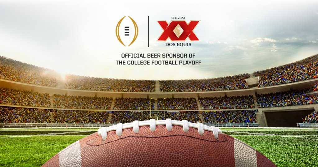 Dos Equis College Football Ad